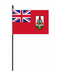 Bermuda Country Hand Flag - Small.